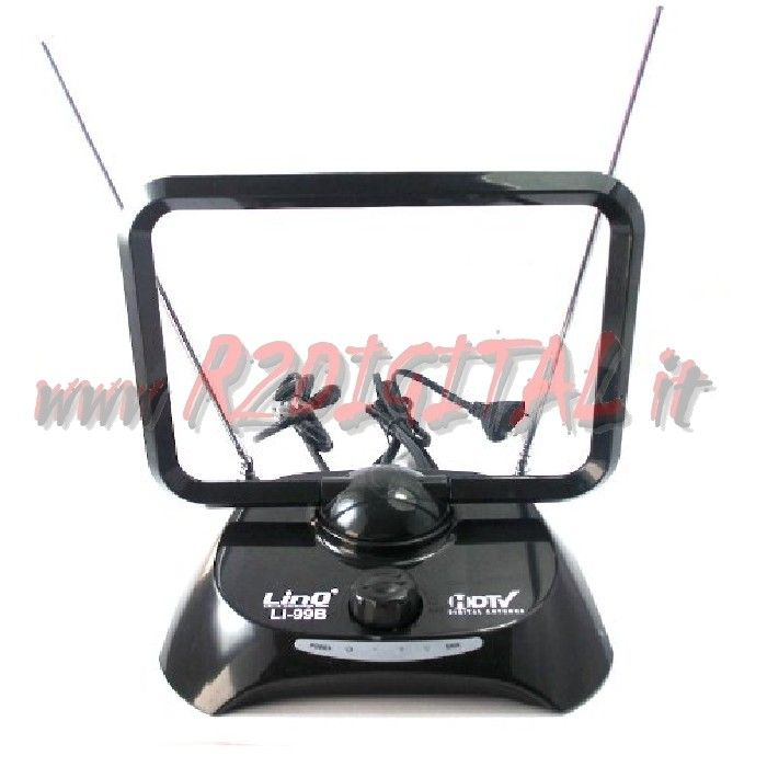 ANTENNA TV LINQ DVB-T UHF 38 dB DIGITALE TERRESTRE AMPLIFICATA